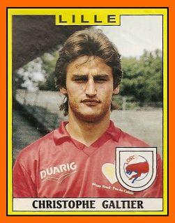 Christophe GALTIER 1987-90 LILLE