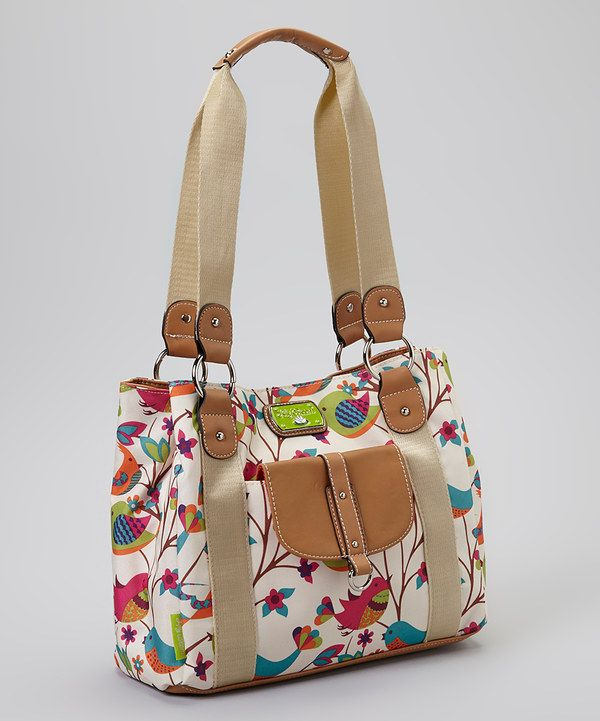 Another great find on #zulily! Lily Bloom Tweety Twig Taylor Tote by Lily Bloom #zulilyfinds