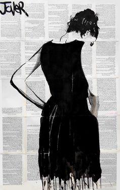 "Saatchi Online Artist Loui Jover; Drawing, ""the bee keepers wife"" #art"