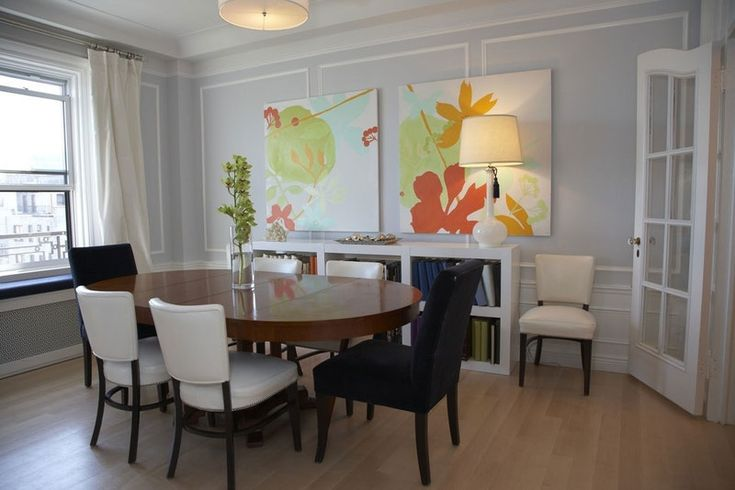 Old & New: Pairing Antique Dining Tables with Contemporary Chairs