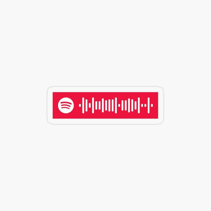 Africa spotify scan code transparent sticker by claysus