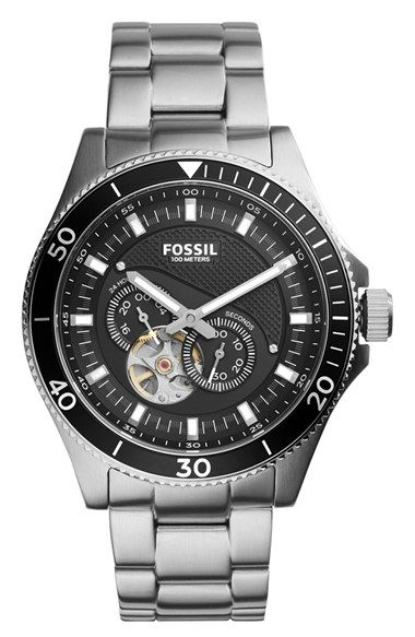 Fossil 'Wakefield' Chronograph Bracelet Watch, 46mm available at #Nordstrom