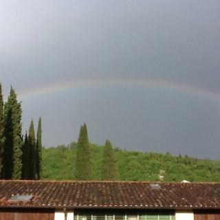 L'arcobaleno sopra grezzana...