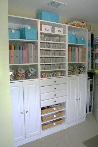 Craft room organization idea