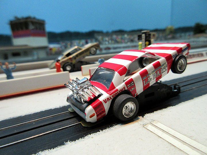 Ho Slot Car Drag Racing Sets