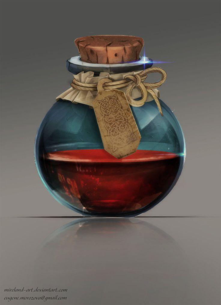 Mysterious potion by Mireland-art on DeviantArt