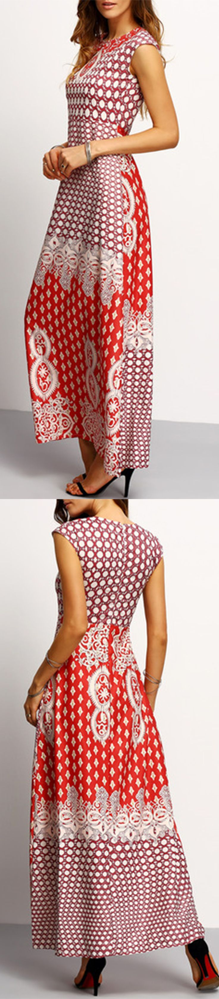 maxi dress vintage style end tables