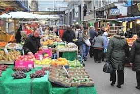 Surrey Street market Croydon Surrey