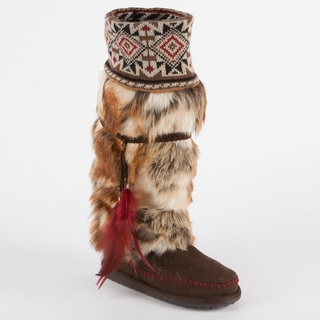 @Overstock - With some of our most bold, innovative designs to date, the Rugged Sole Boot line from Muk Luks combines comfort, style, and functionality like never before.http://www.overstock.com/Clothing-Shoes/Muk-Luks-Lola-Tall-Faux-Fur-Boot-with-Knit-Cuff/7025874/product.html?CID=214117 $72.99