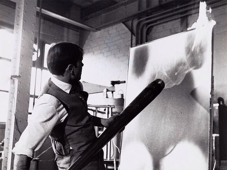 Vera Cardot & Pierre Joly, Yves Klein – Fire Painting