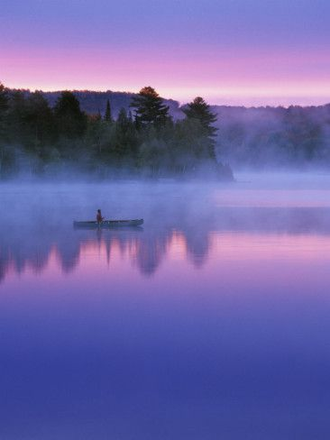 Algonquin Provincial Park in northern Ontario, Canada, where I spent much of my childhood,