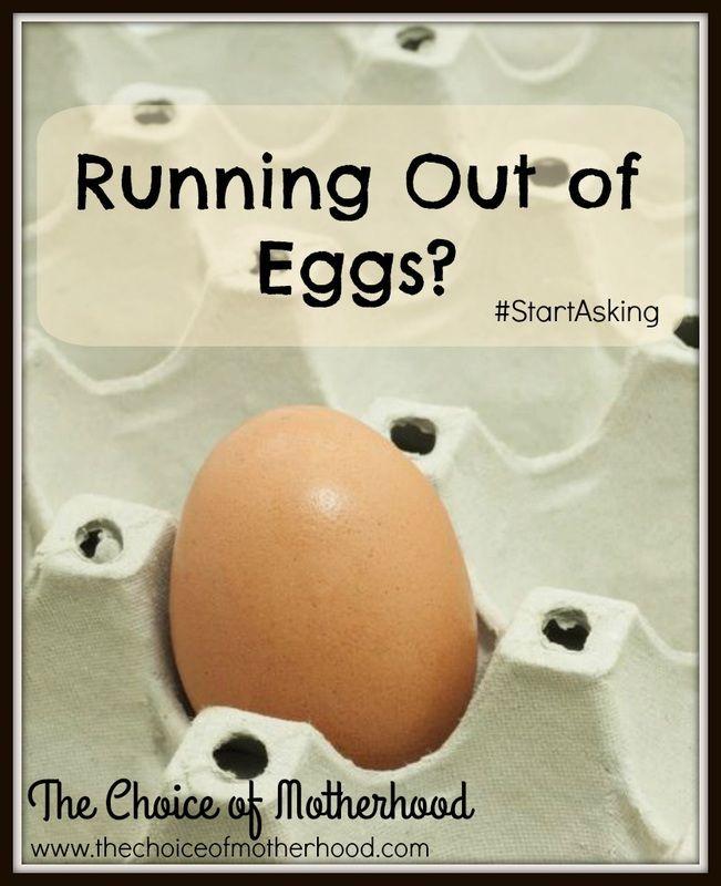 #StartAsking Running Out of Eggs