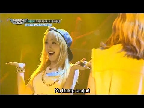 [150717] Minhee vs Alice - Batalla de Rap (Sub esp) - YouTube