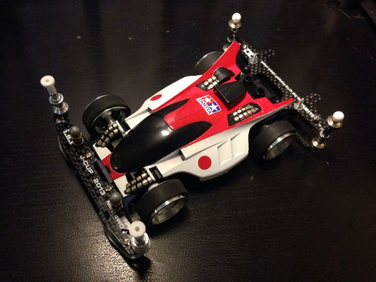 Inspired by Red Fury Turbo #mini4wd #tamiya