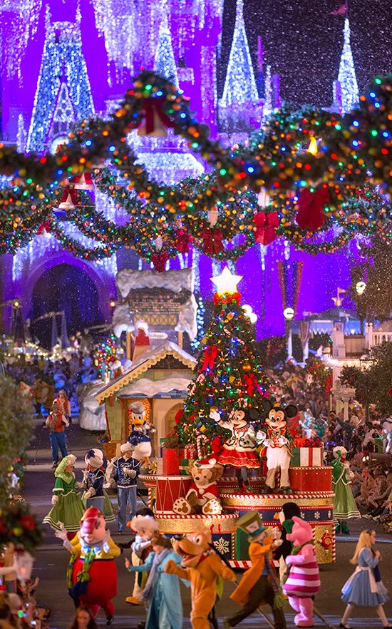 Mickey's Very Merry Christmas Party at Magic Kingdom Park  Can't wait to go this year!!!!