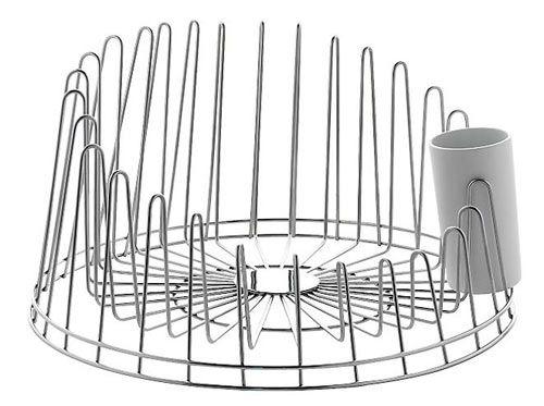A tempo Dishrack designed by Pauline Deltour for Alessi