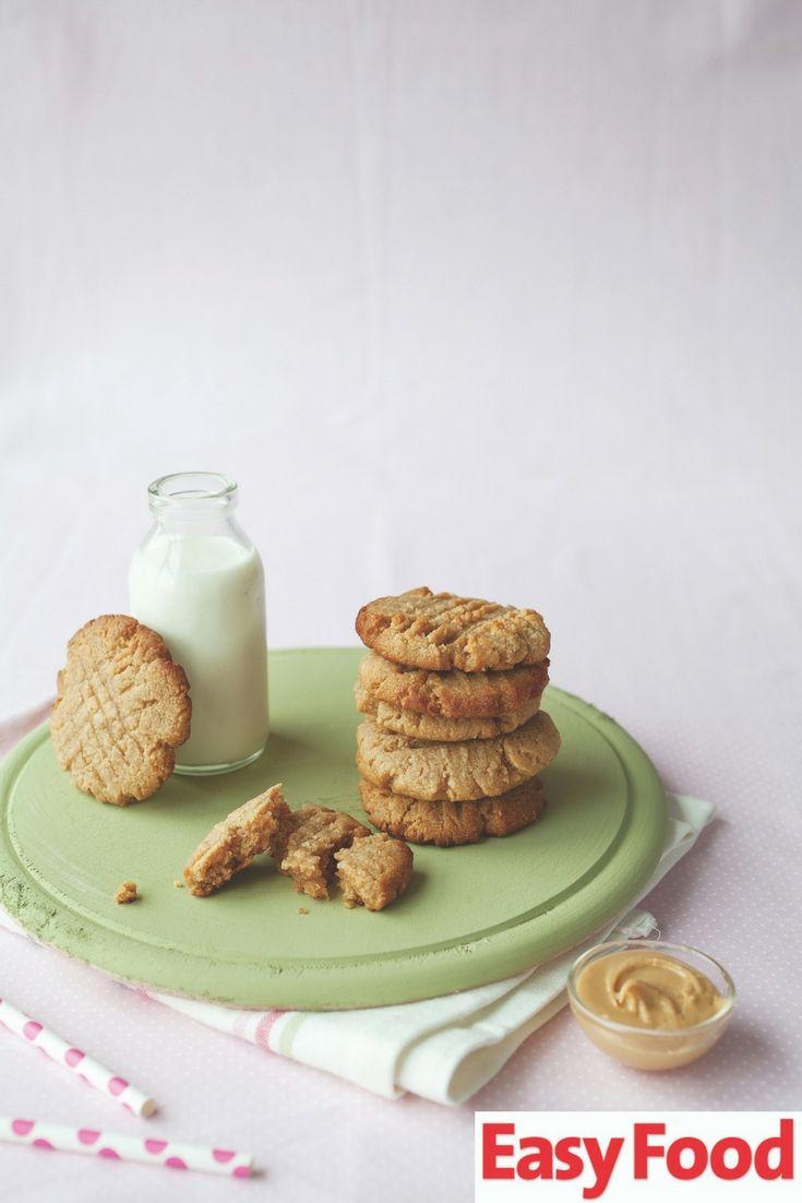 The easiest Peanut butter cookies EVER 🍪 #cookies #peanutbutter #easybaking