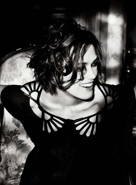 Keira Knightley by Ellen Von Unwerth for Vogue