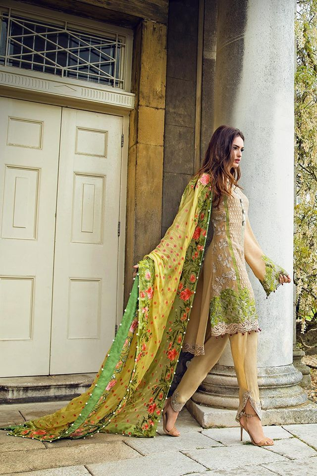 Latest Pakistani Designers Fancy Eid Dresses 2016-2017 | BestStylo.com