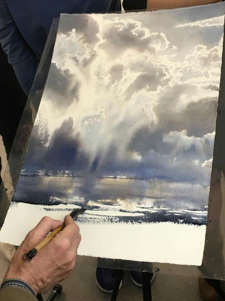 Sergey Temerev The Best Sky Watercolorist Working Today Look For