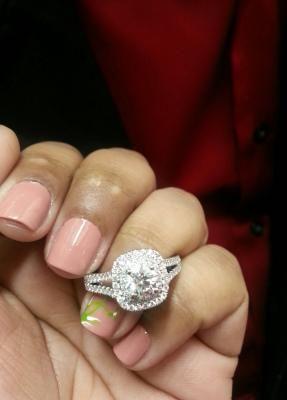 339 best Let Love Shine images on Pinterest Diamond engagement