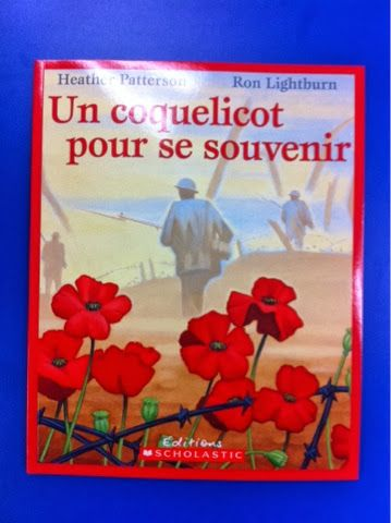 Primary French Immersion Resources: Remembrance Day