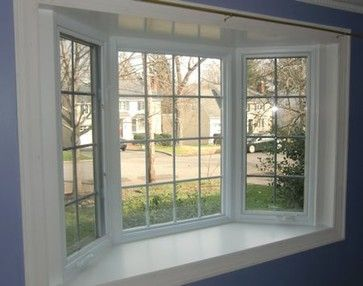 25 best ideas about bow windows on pinterest bay window for Vinyl bay window