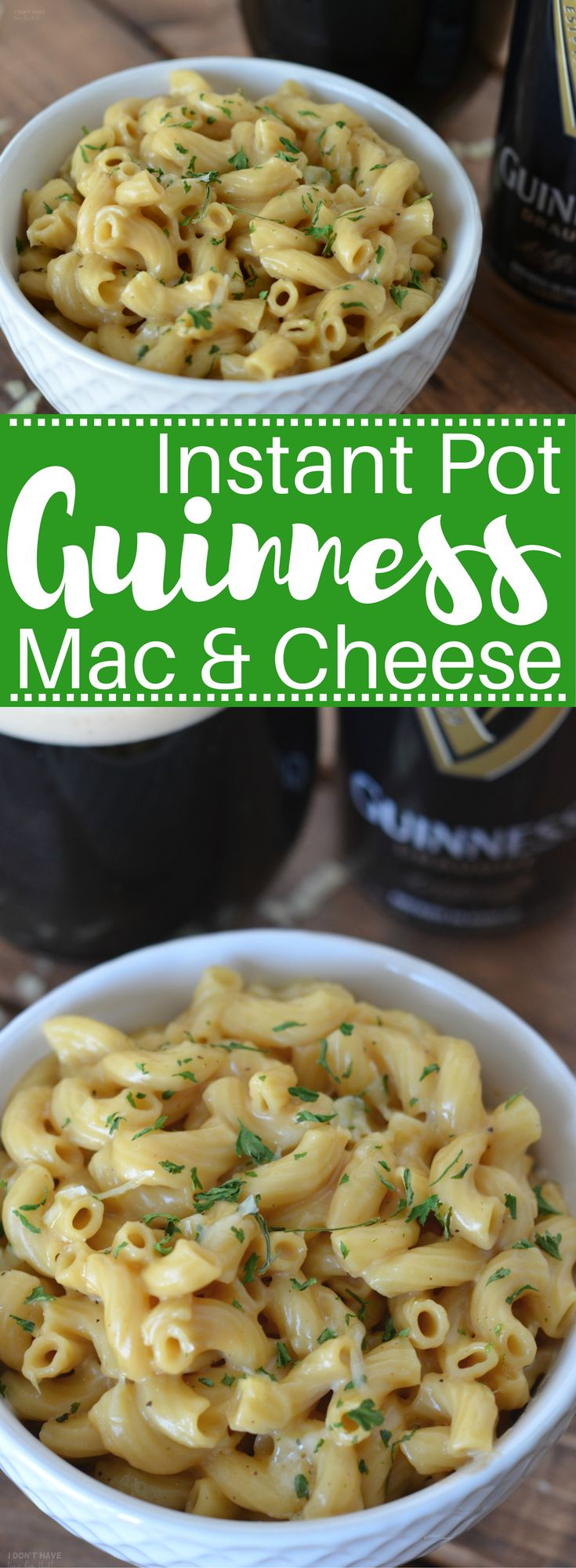 Put an adult spin on your next batch of mac and cheese! Instant Pot Guinness Mac and Cheese is going to be a home run at your St Patrick's Day celebration!