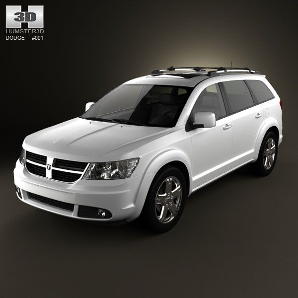 Dodge Journey 3d model from humster3d.com. Price: $75