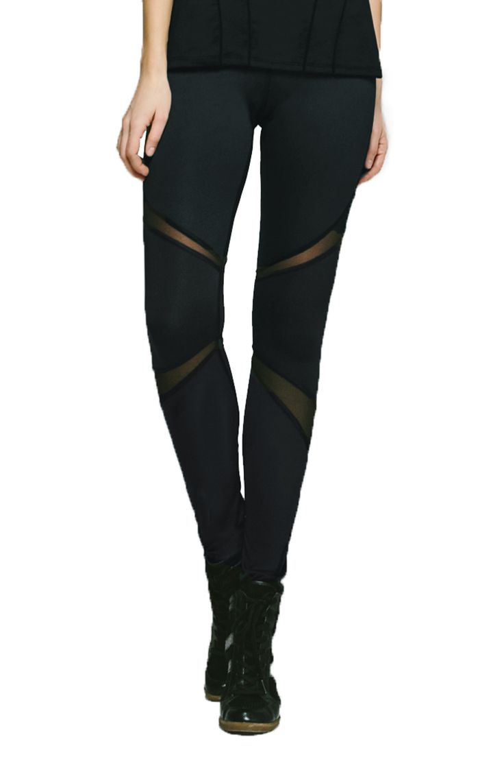 It's time to put away your old black leggings and make room for Michis Black Pulsar Leggings. The designer leggings are made of ultra soft breathable material that's oh so comfy. #black