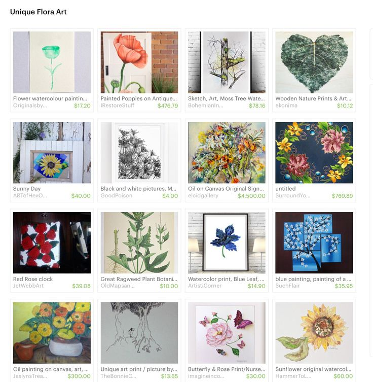 Butterfly & Rose Print featured in Etsy Treasury