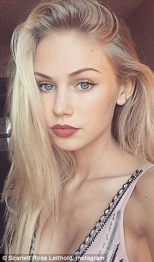 Scarlett Leithold, 18, is the face of popular teenage fashion brand Brady Melville, which has developed a cult following in the U.S in recent years