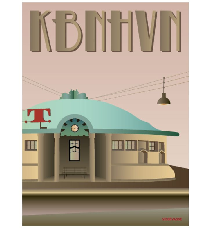 KBNHVN - Trianglen. You can buy this piece at www.artrebels.com #artrebels #art #vissevasse