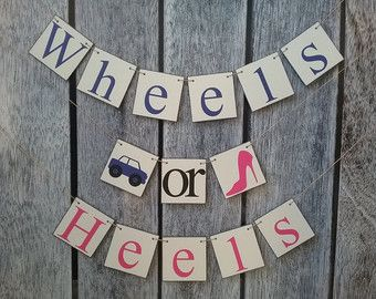 Items similar to He Or She What Will It Bee Gender Reveal Banner Set / Bee Baby Shower Banner / Bee Gender Reveal Party / Honey Bee Baby Shower Decorations on Etsy