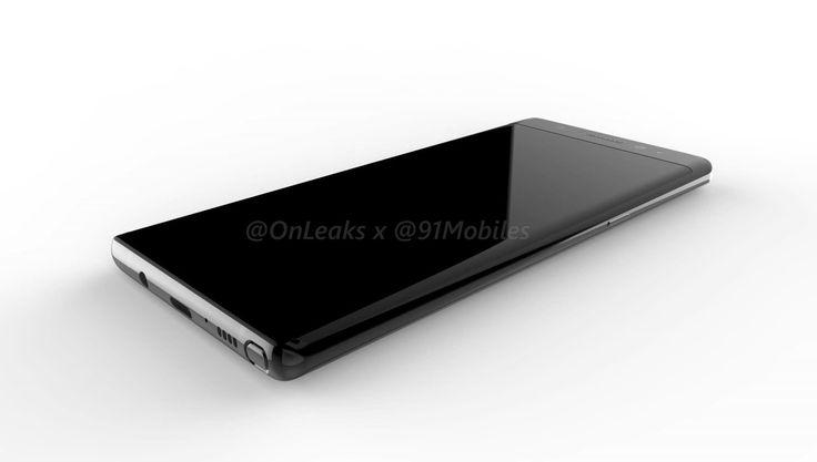 Galaxy Note 8: novas renderizações mostram câmera dupla na traseira - https://www.showmetech.com.br/samsung-galaxy-note-8-renderizacoes/