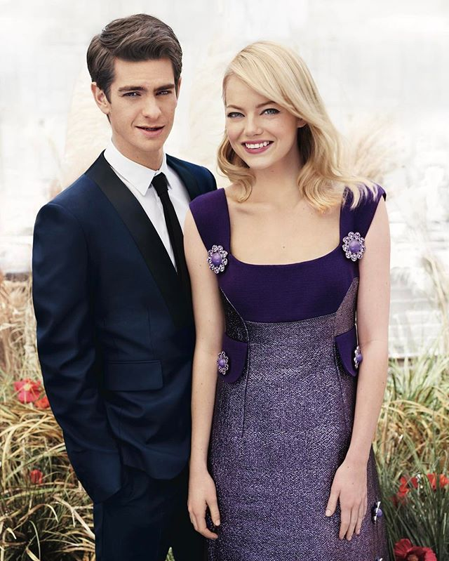 """""""Theres so much love between us and so much respect."""" Andrew Garfield on his ex-girlfriend Emma Stone.  Tap the link in bio to read more about how these two define ex goals. #TBT : @josholins  via TEEN VOGUE MAGAZINE OFFICIAL INSTAGRAM - Celebrity  Fashion  Haute Couture  Advertising  Culture  Beauty  Editorial Photography  Magazine Covers  Supermodels  Runway Models"""