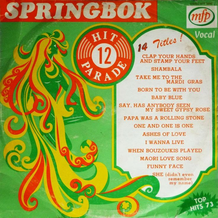 Springbok 12 - Top Hits 73 (LP 1973) V/A