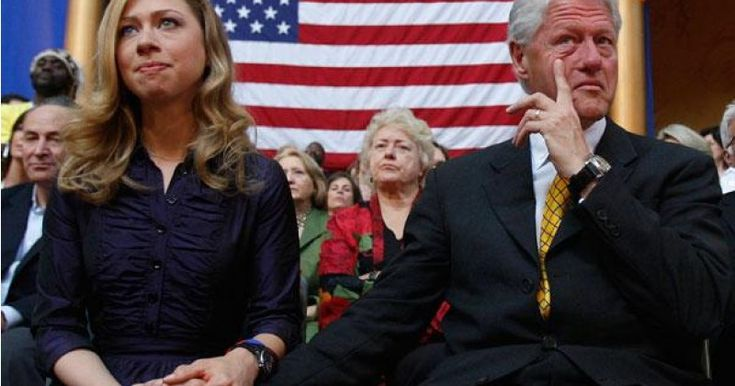 """Alleged Bill Clinton Rape Victim Responds to Chelsea: """"Your Father is a Sexual Predator"""""""