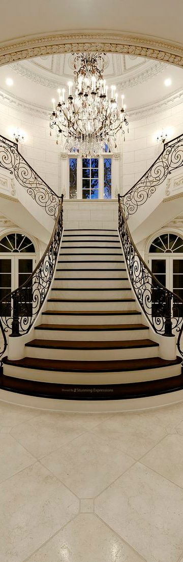 Best 25 Grand Entrance Ideas On Pinterest: 78 Best Ideas About Luxury Staircase On Pinterest