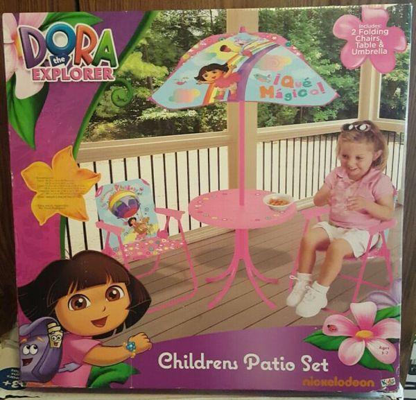Dora The Explorer Children S Patio Set Out Doors Pinterest Patios