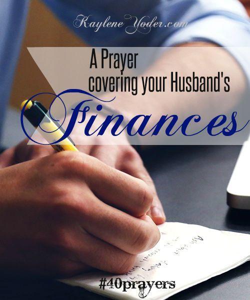 Prayer For Finances – Jerusalem House
