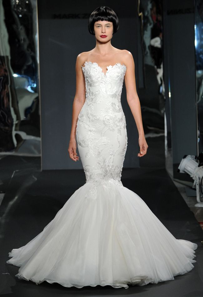 Mark Zunino wedding dresses Spring 2014 collection - MODwedding