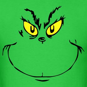 Pix for gt the grinch cartoon face the grinch canvas paintings cake