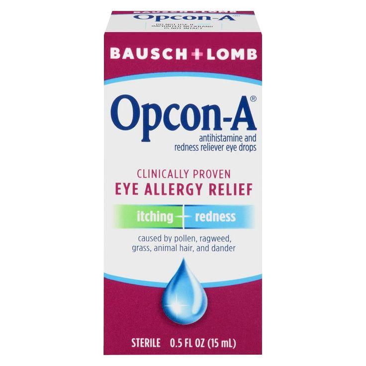 Bausch & Lomb Allergy Relief Eye Drops - 0.5 oz