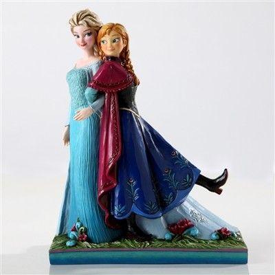 Disney tradition - Frozen Anna and Elsa