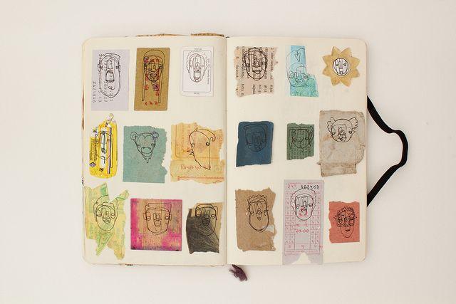 #art #journal #sketchbook
