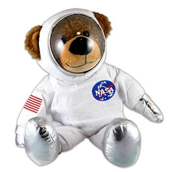 Astronaut Teddy Bear Plush Toy At The John F Kennedy