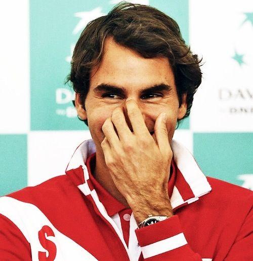 Roger Federer funny