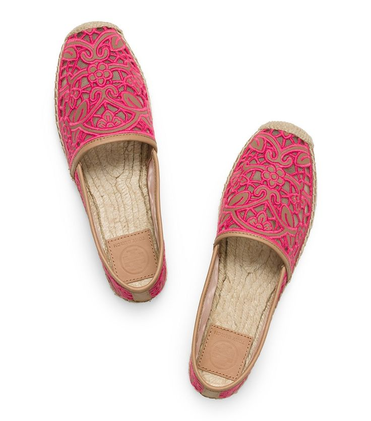 Visit Tory Burch to shop for Lucia Lace Espadrille . Find designer shoes,  handbags, clothing & more of this season's latest styles from designer Tory  Burch.