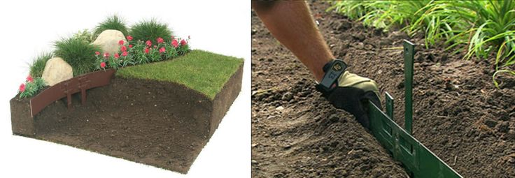 17 best images about documentaci n t cnica de bricolaje on for Separador jardin